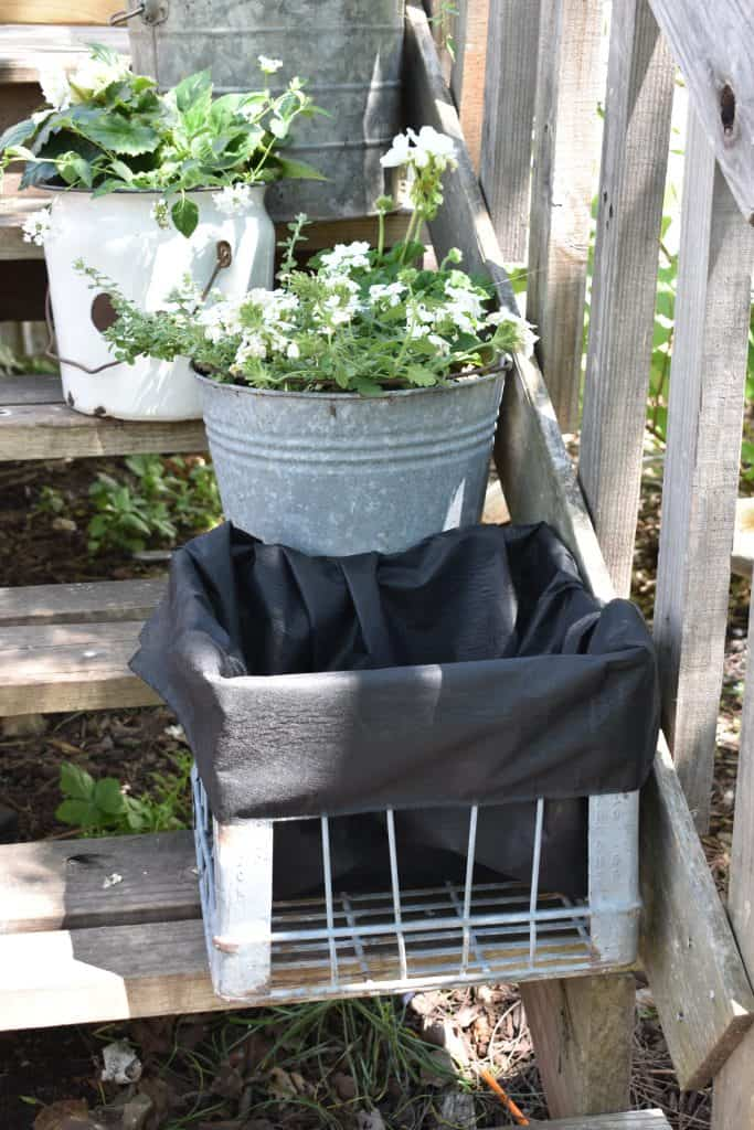 Vintage Galvanized Garden Tub Planters Rocky Hedge Farm