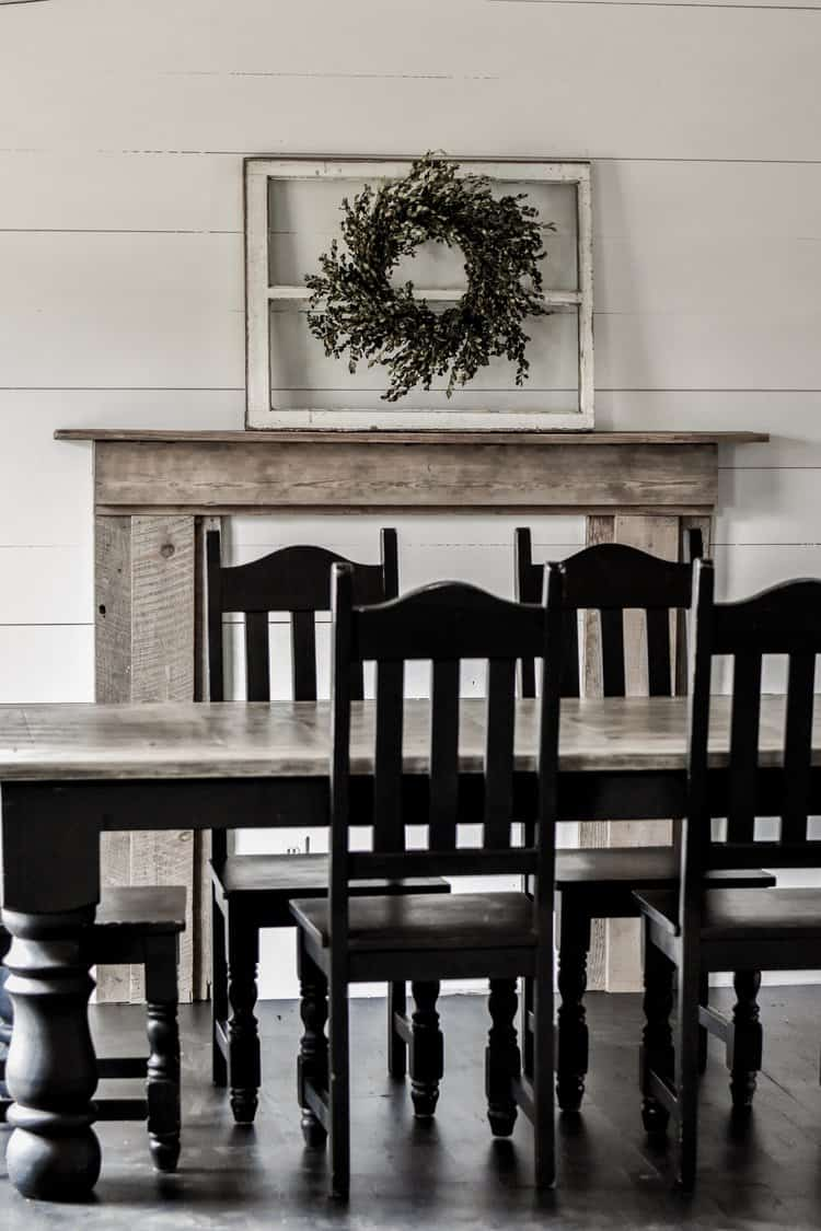 Diy Rustic Farmhouse Faux Fireplace And Mantel Rocky