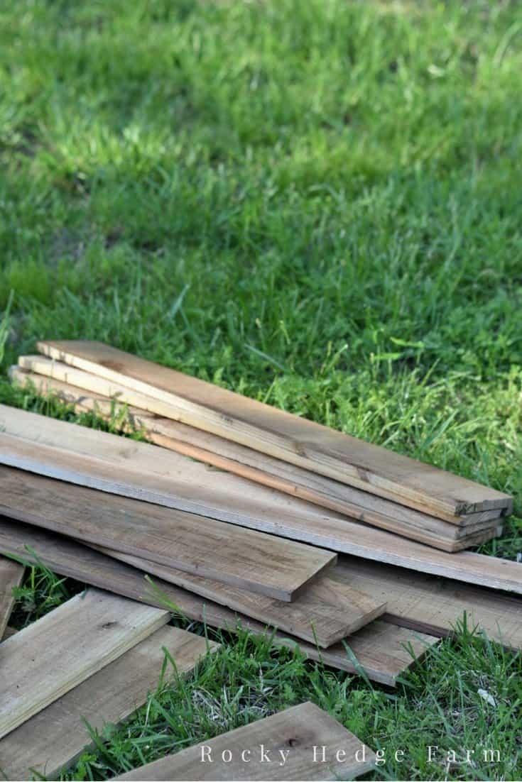 how to build a cheap 4x8 garden bed