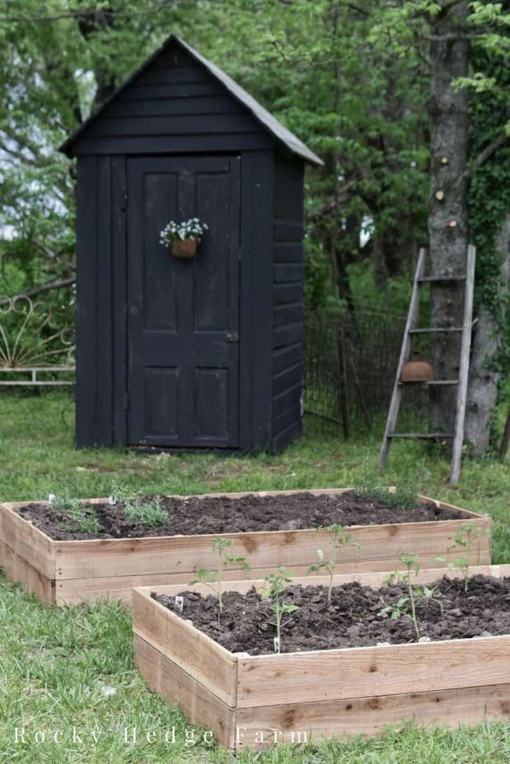 Cheap Cedar Raised Garden Beds