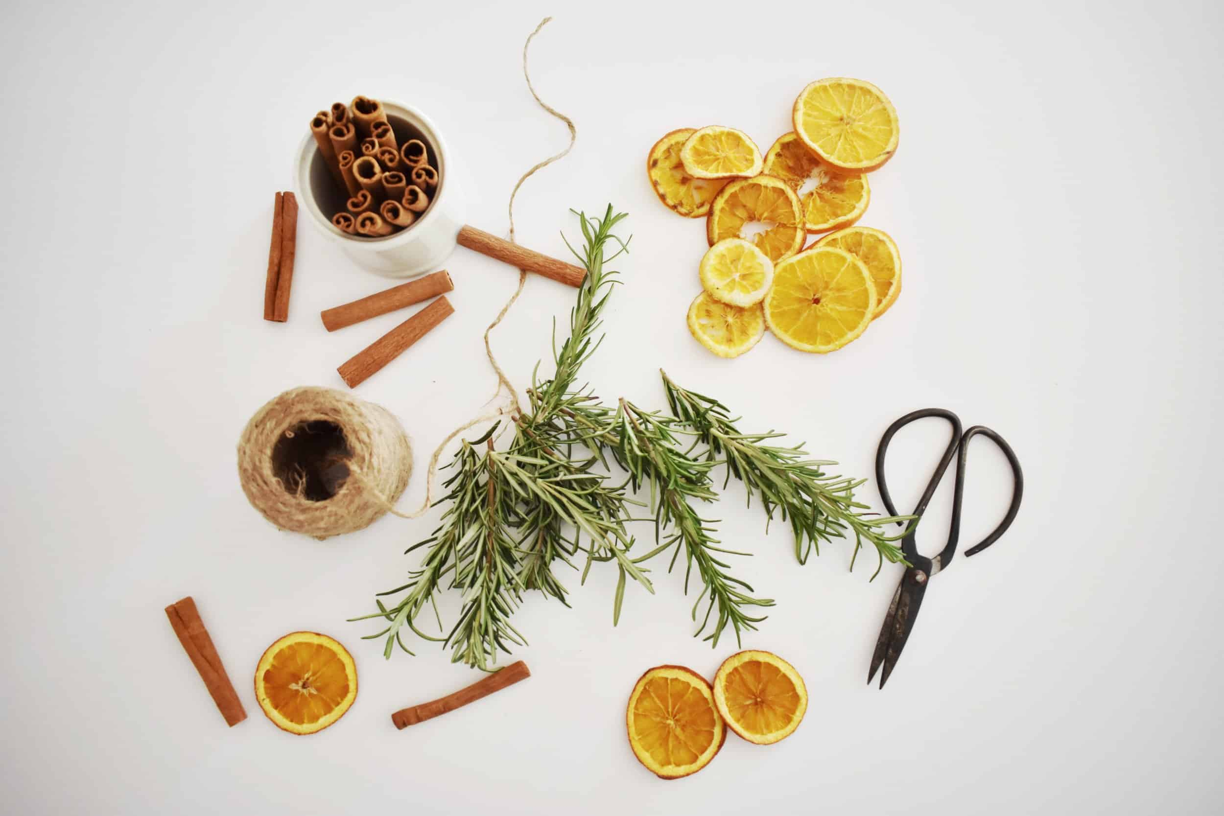 How to Make a DIY Simple Dried Orange Garland   Rocky Hedge Farm