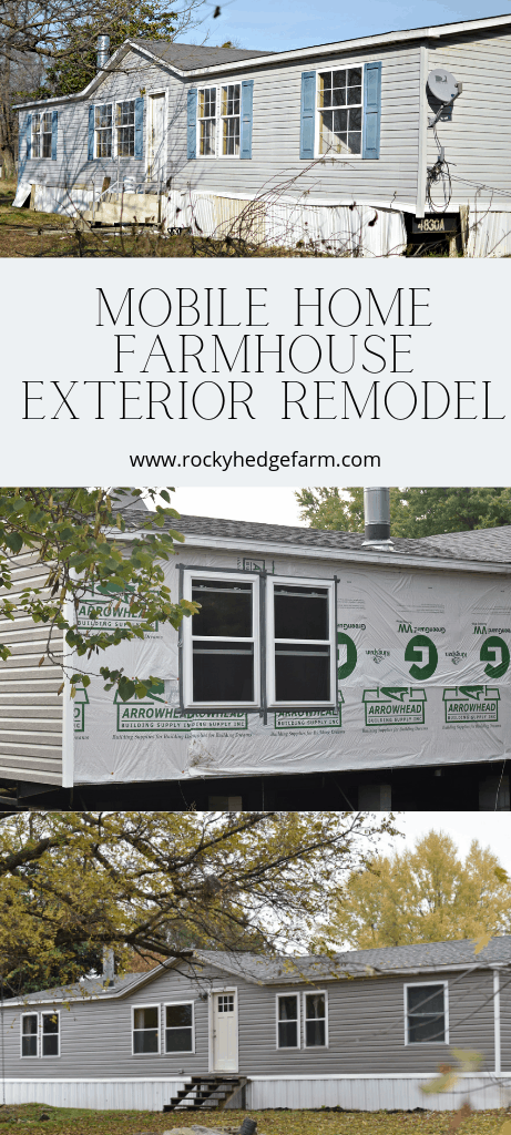 Double Wide Mobile Home Farmhouse Remodel