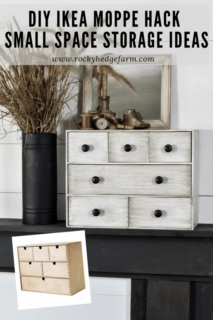 Ikea Moppe Painted Makeover