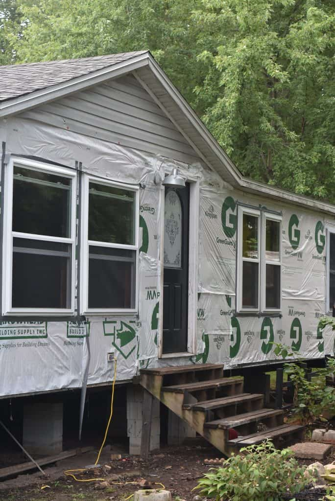 Remodeling the Exterior of a Double Wide Mobile Home