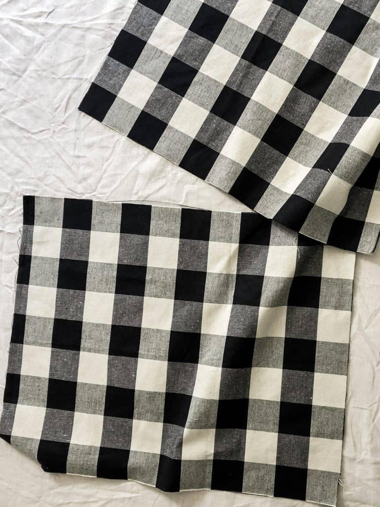 Envelope Pillow Closure | Step 4