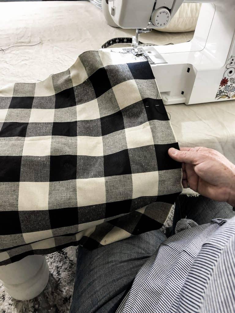 DIY Envelope Pillow Cover