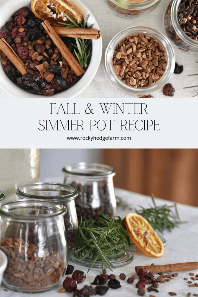 Fall Simmering Spices for DIY Potpourri Recipe