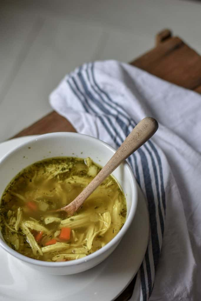 Easy Homemade Low Carb Chicken Soup