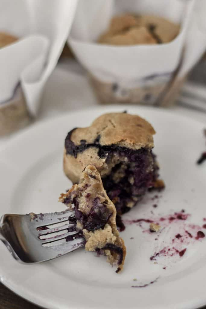 How to Make Overnight Sourdough Blueberry Muffins