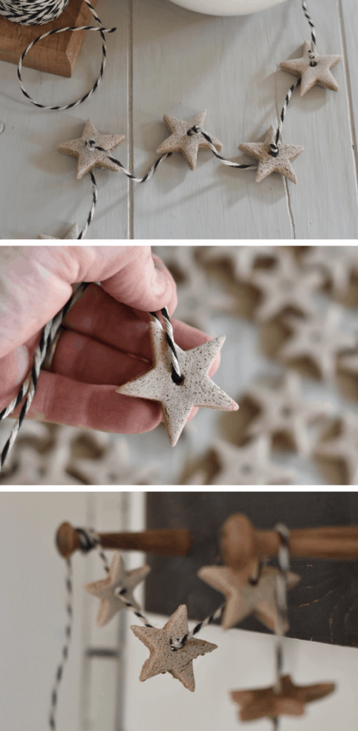 DIY Christmas Scented Salt Dough Ornaments
