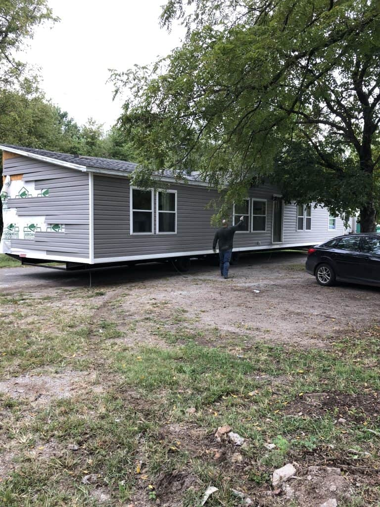 mobile home double wide exterior