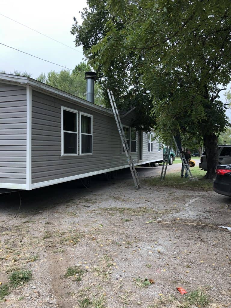 mobile home moving day