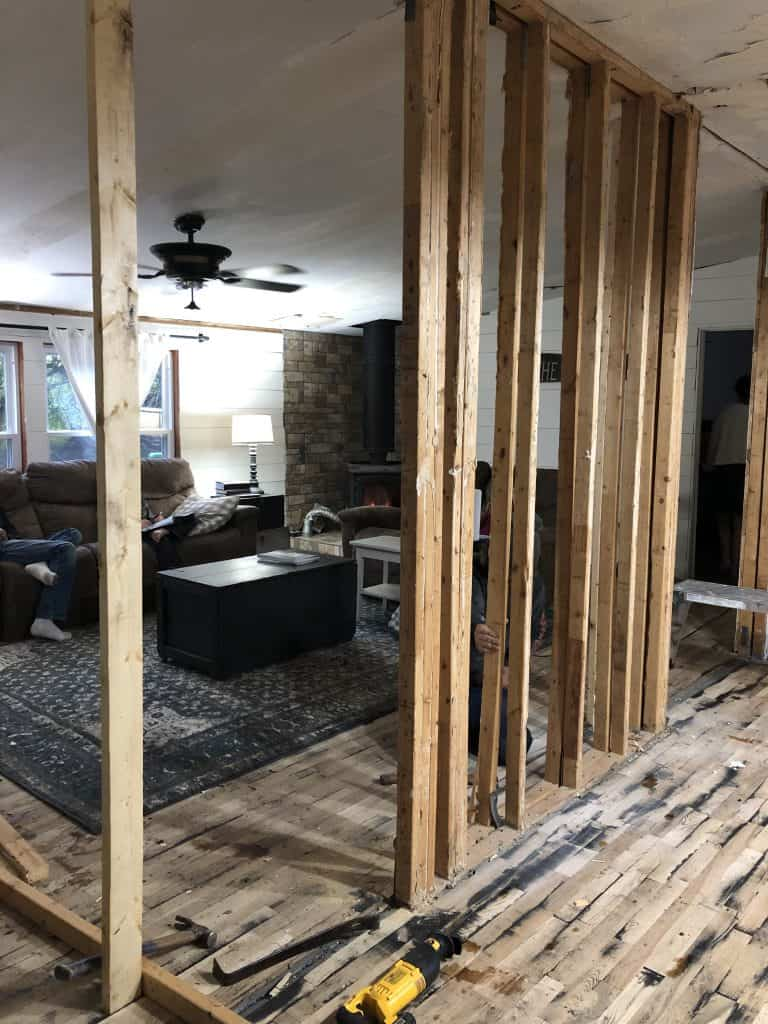 Mobile Home Marriage Wall Removal
