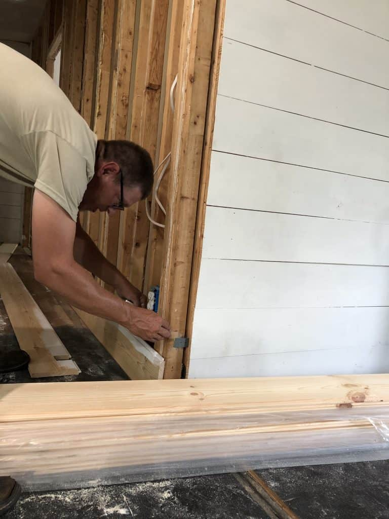 Double Wide Mobile Home Wall Remodel