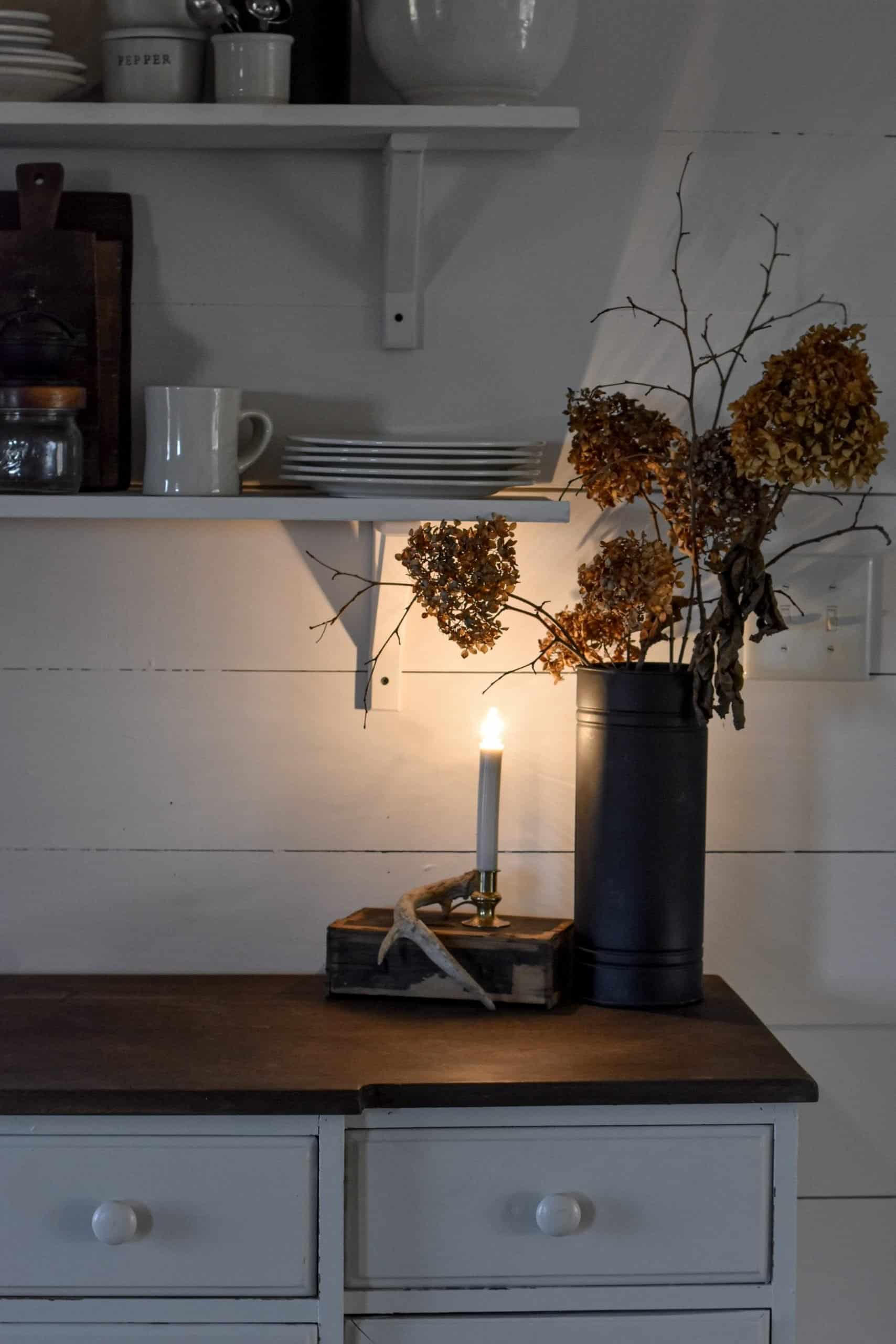 Cozy Fall Kitchen