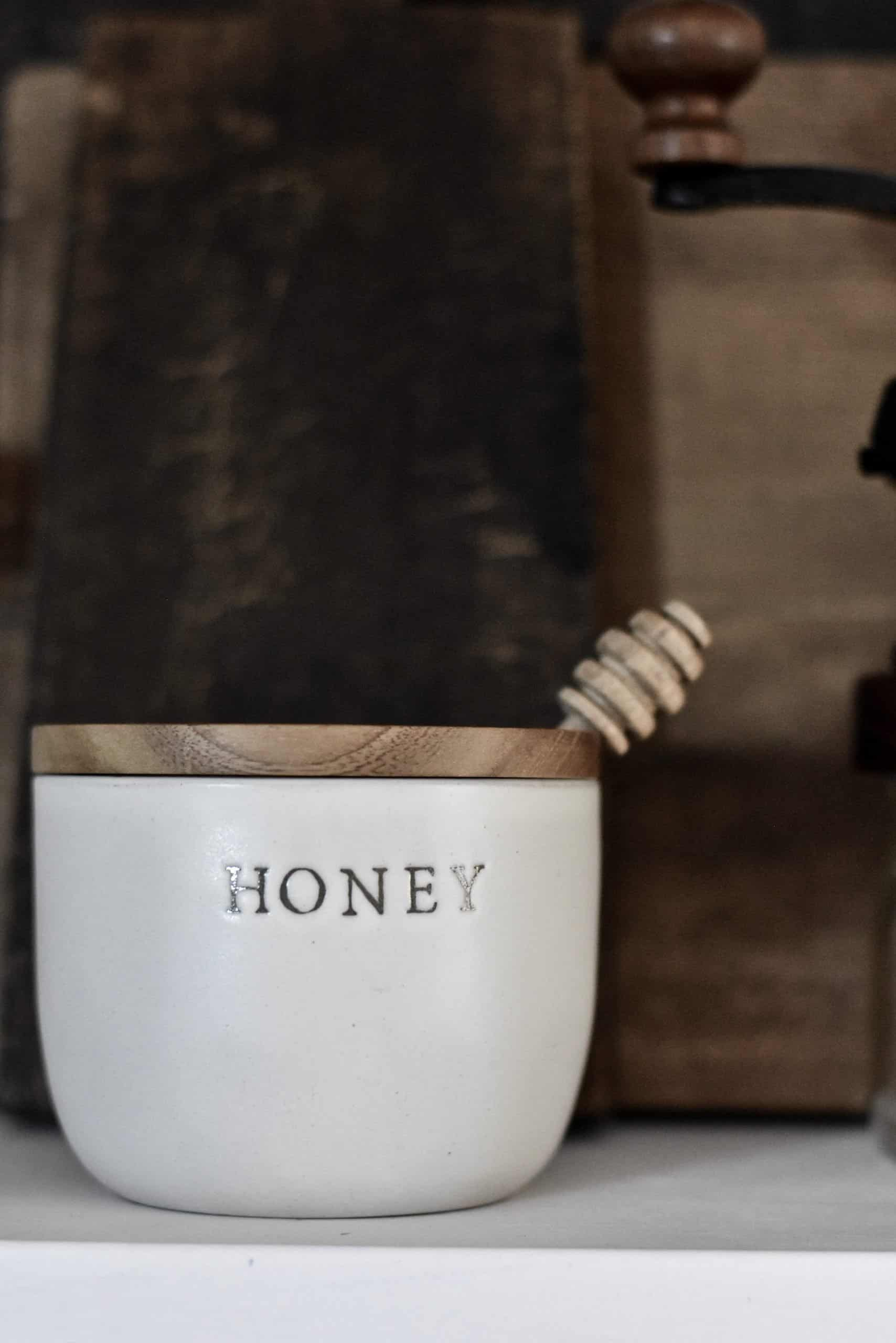 Honey Pot Kitchen Open Shelf Style