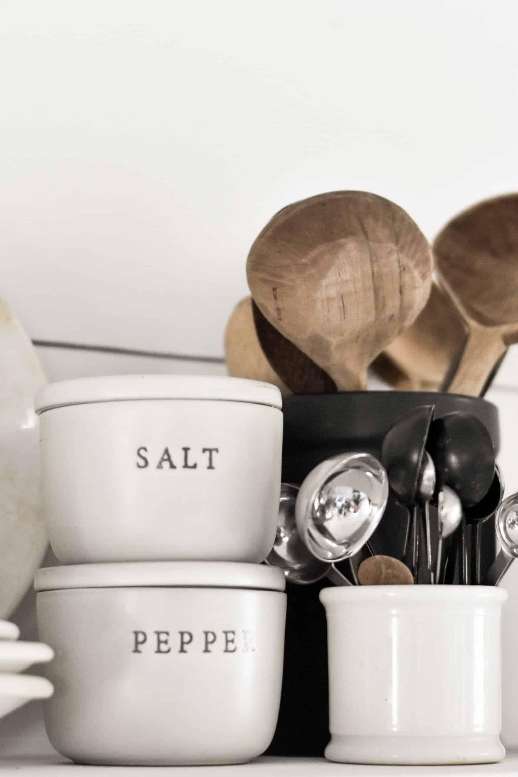 Rustic Style Shelf Kitchen Organization How to Style Kitchen Shelves
