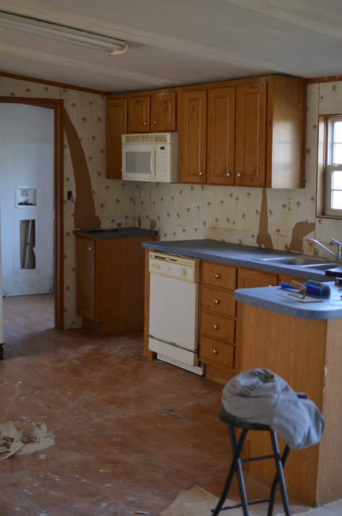 Double Wide Mobile Home Kitchen Cabinets Rocky Hedge Farm