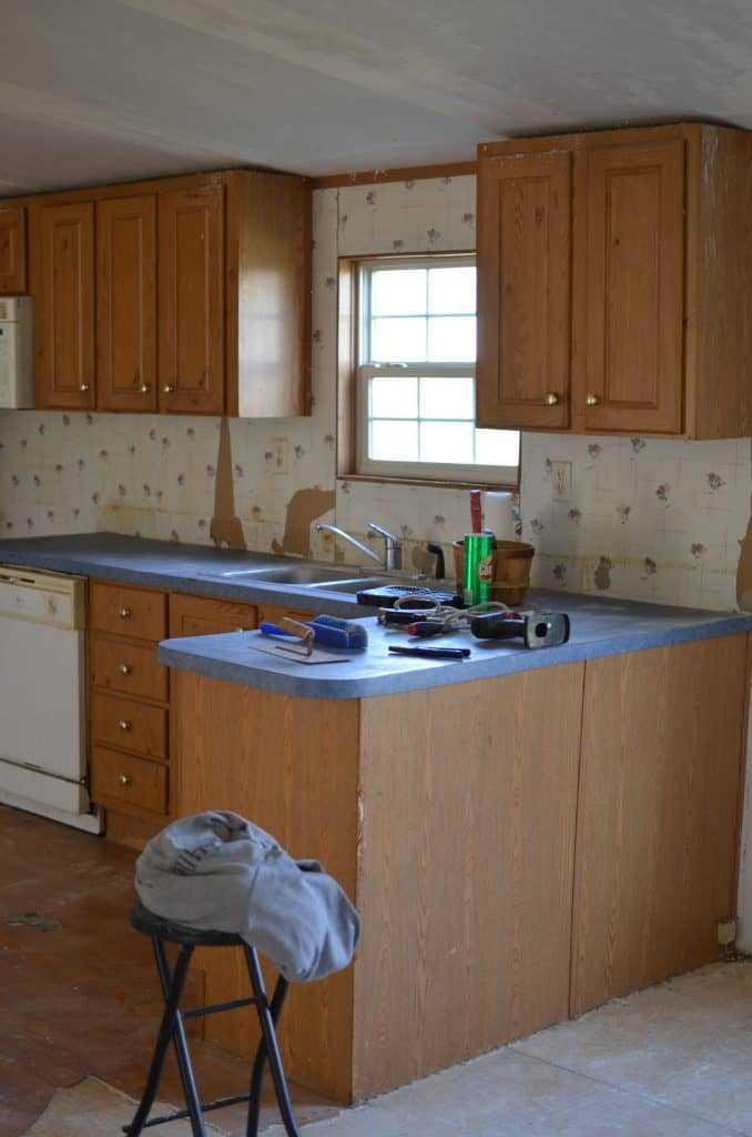 Double Wide Kitchen Remodel Rocky Hedge Farm