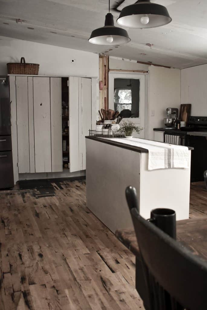 Double Wide Kitchen Remodel Process