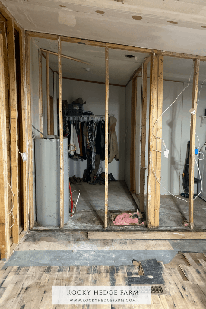 Gutting A Double Wide Kitchen