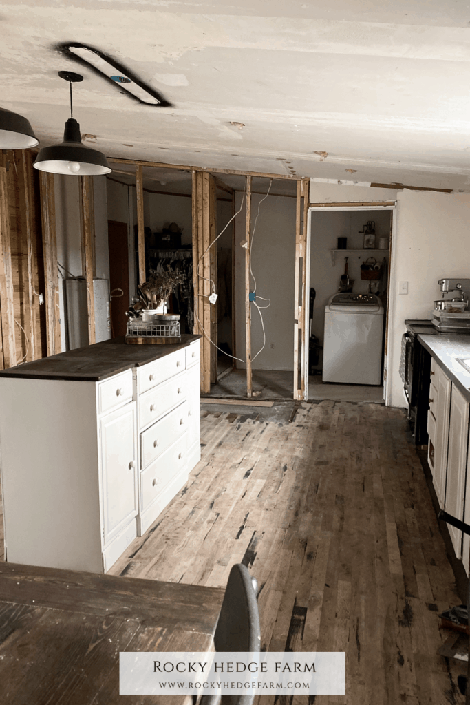 Double Wide Mobile Home Kitchen Remodel