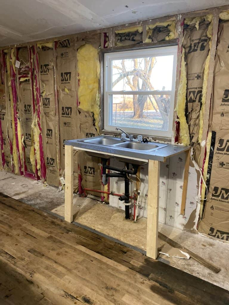 Adding Kitchen Windows to a Mobile Home