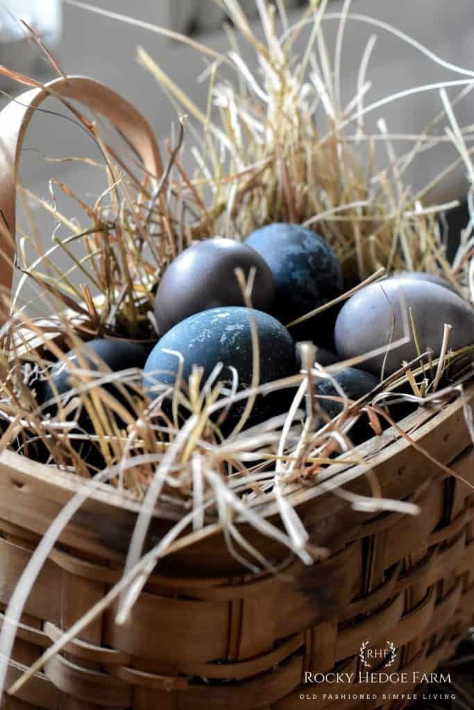 Natural Dye Egg Recipe