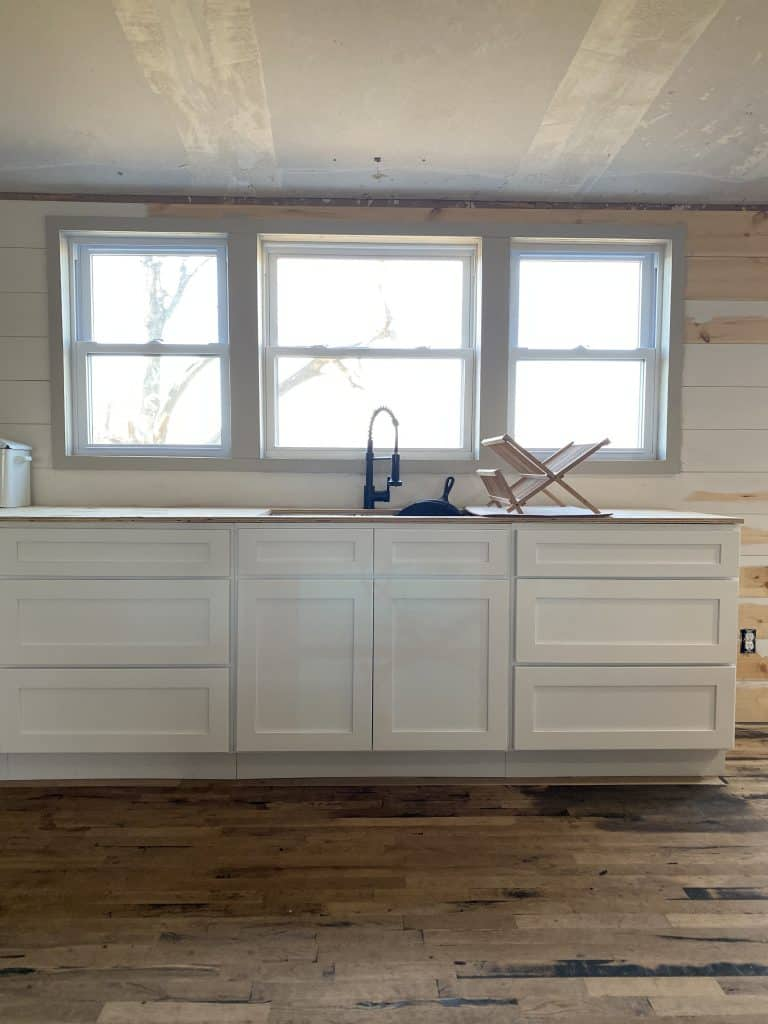 Double Wide Mobile Home Kitchen Remodel Adding Windows