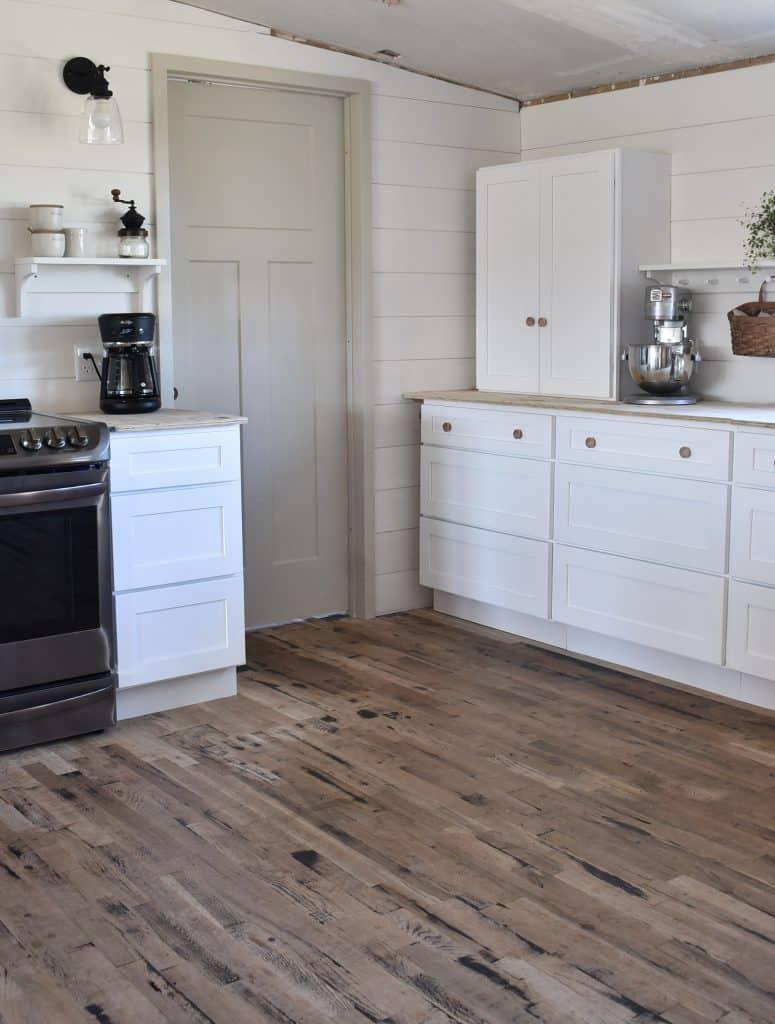 White Farmhouse Shaker Cabinets