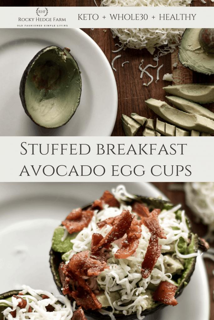 Bacon Egg and Avocado