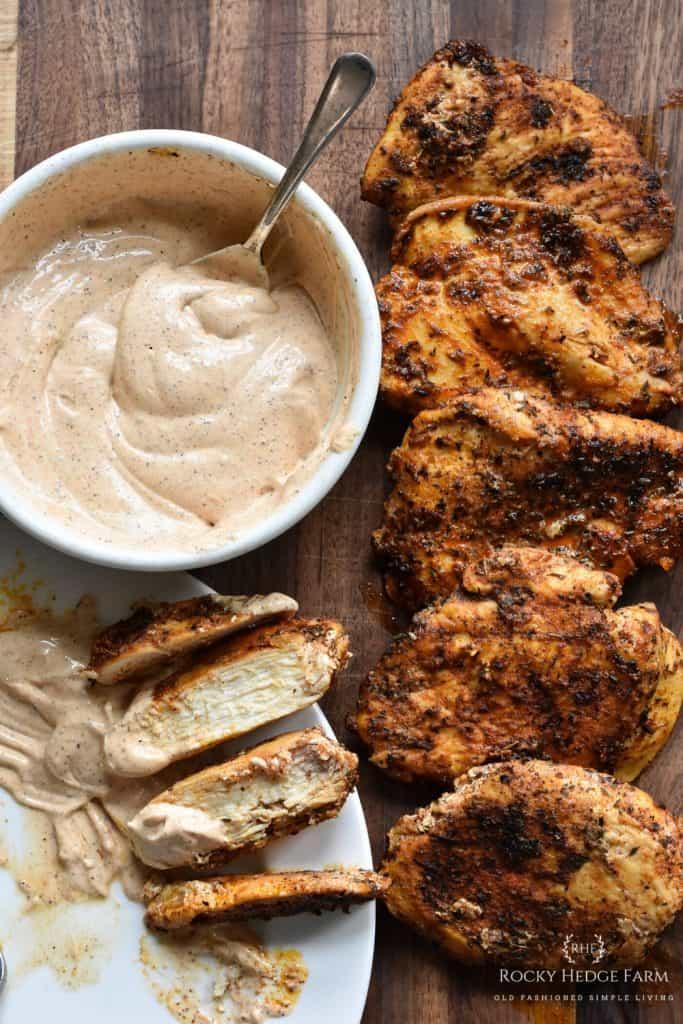 Healthy Cast Iron Skillet Recipe: Blackened Chicken