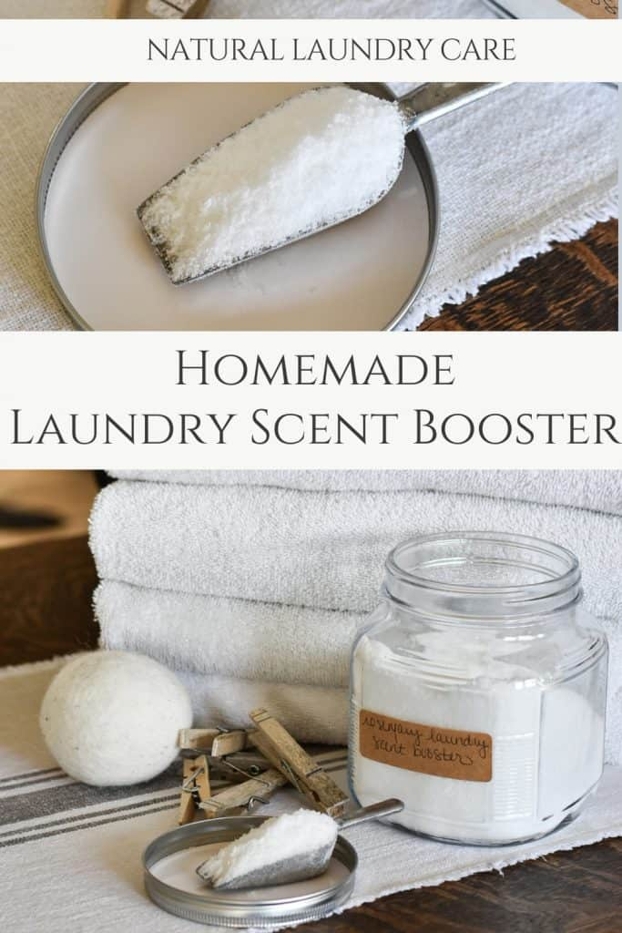 Homemade Laundry Scent Booster