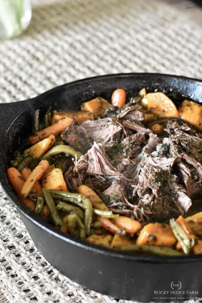 Cast Iron Pot Roast