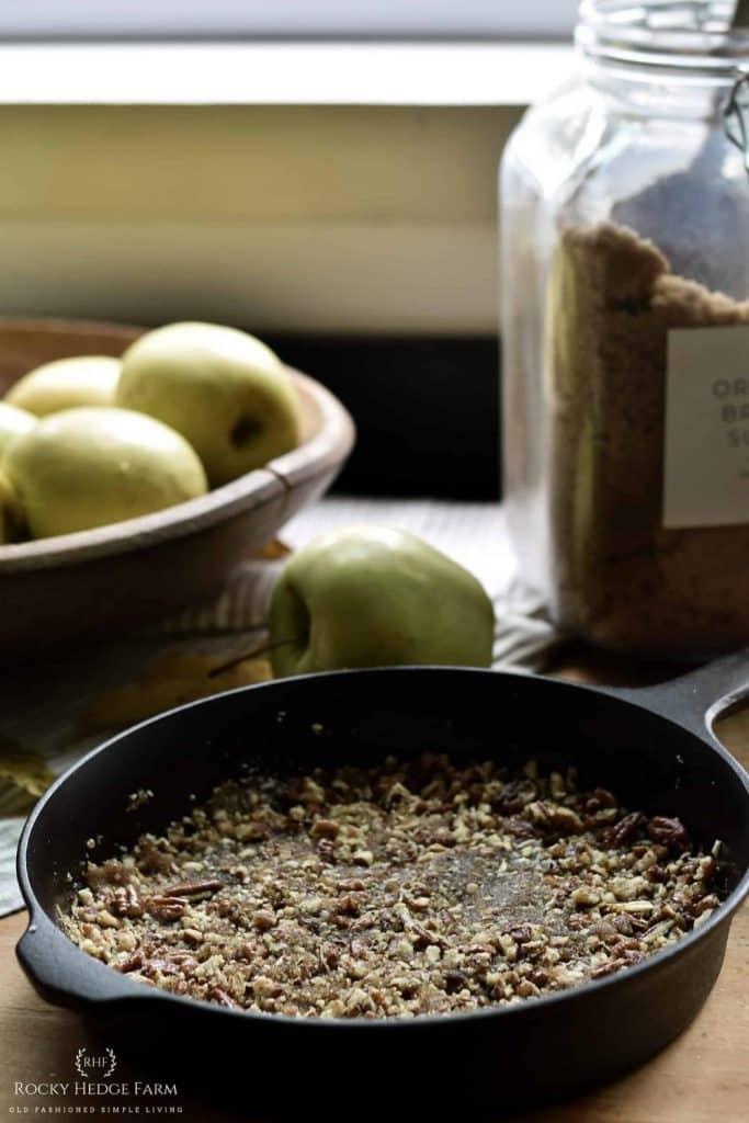 Caramelized Apple Pie Layer