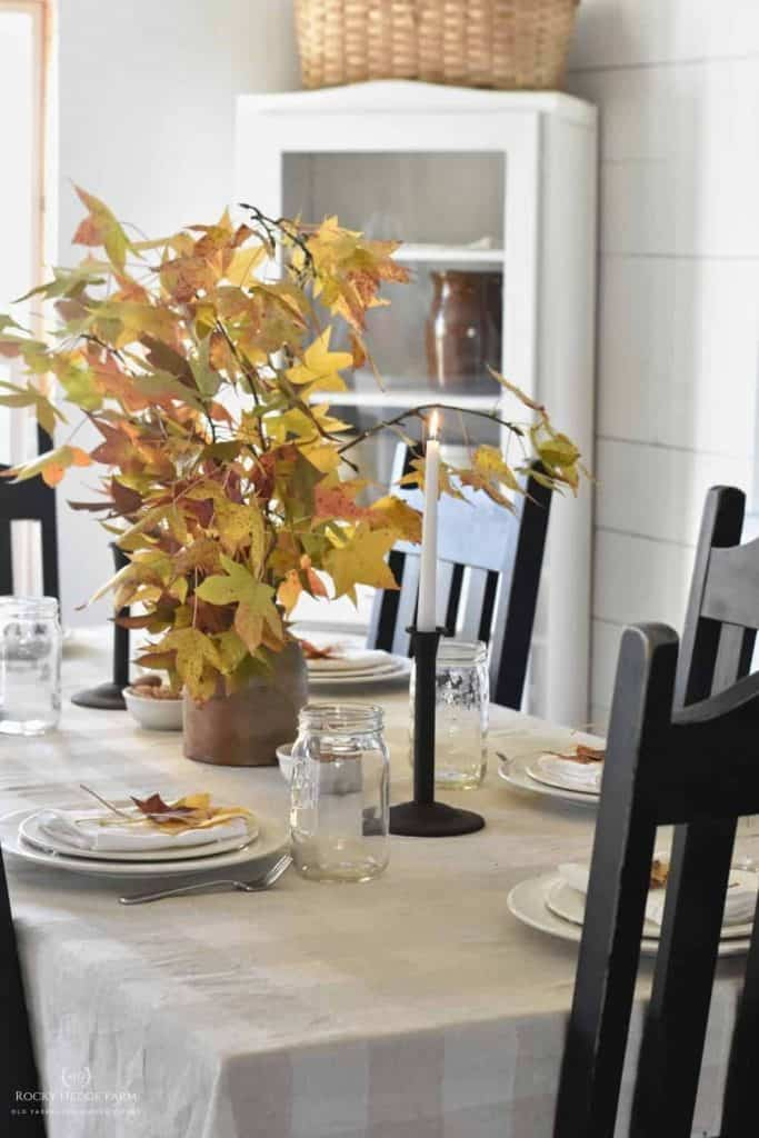 rustic country fall decor