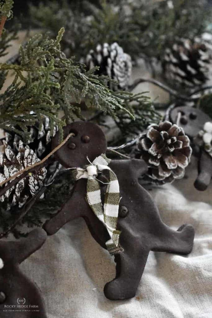 Scented Salt Dough Ornament Recipe