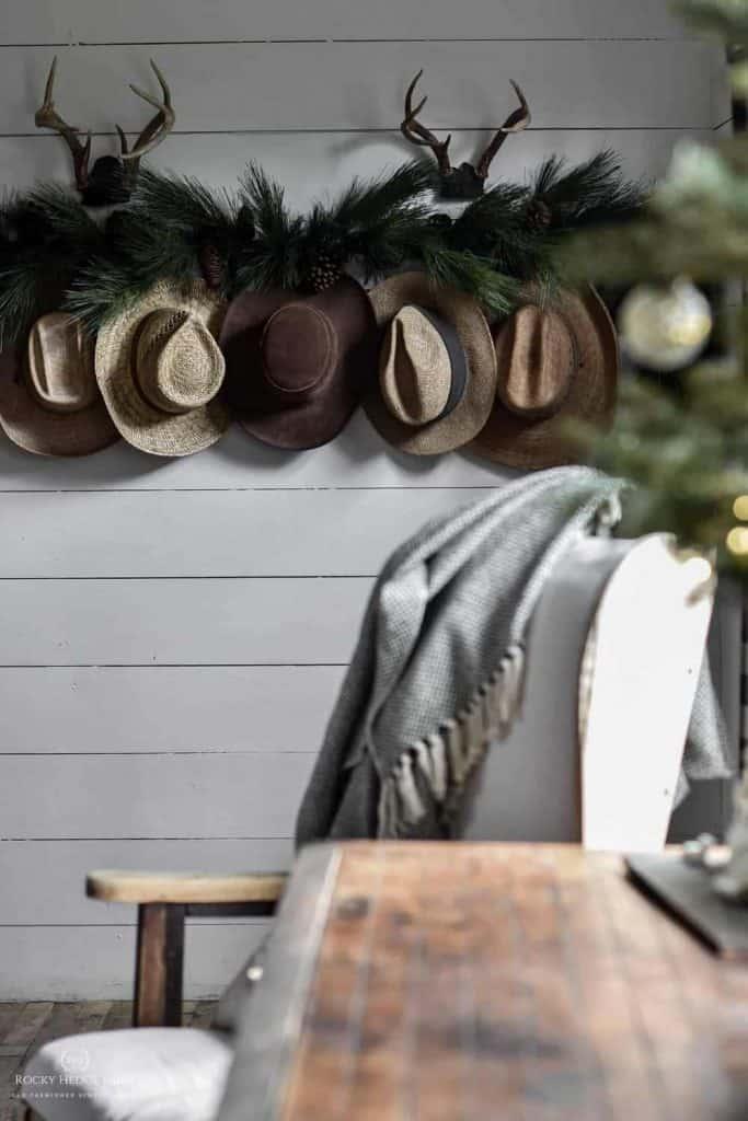 Christmas Peg Rack