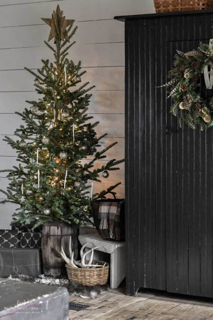 Rustic Christmas Tree Topper