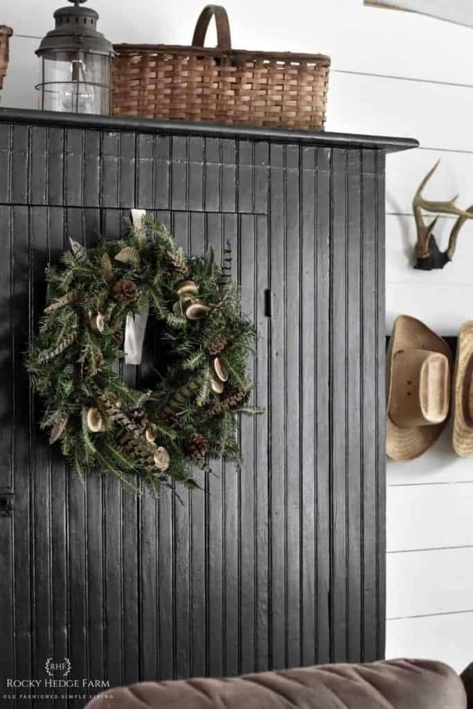 Winter Rustic Wreath