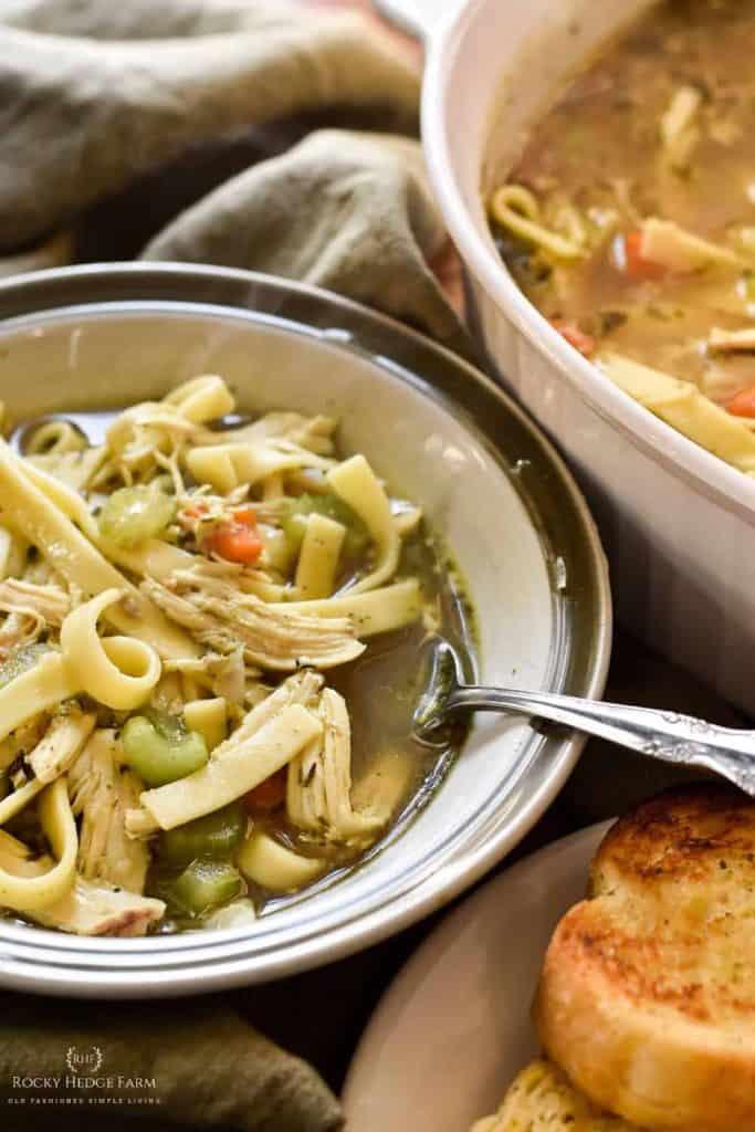 chicken soup seasonings