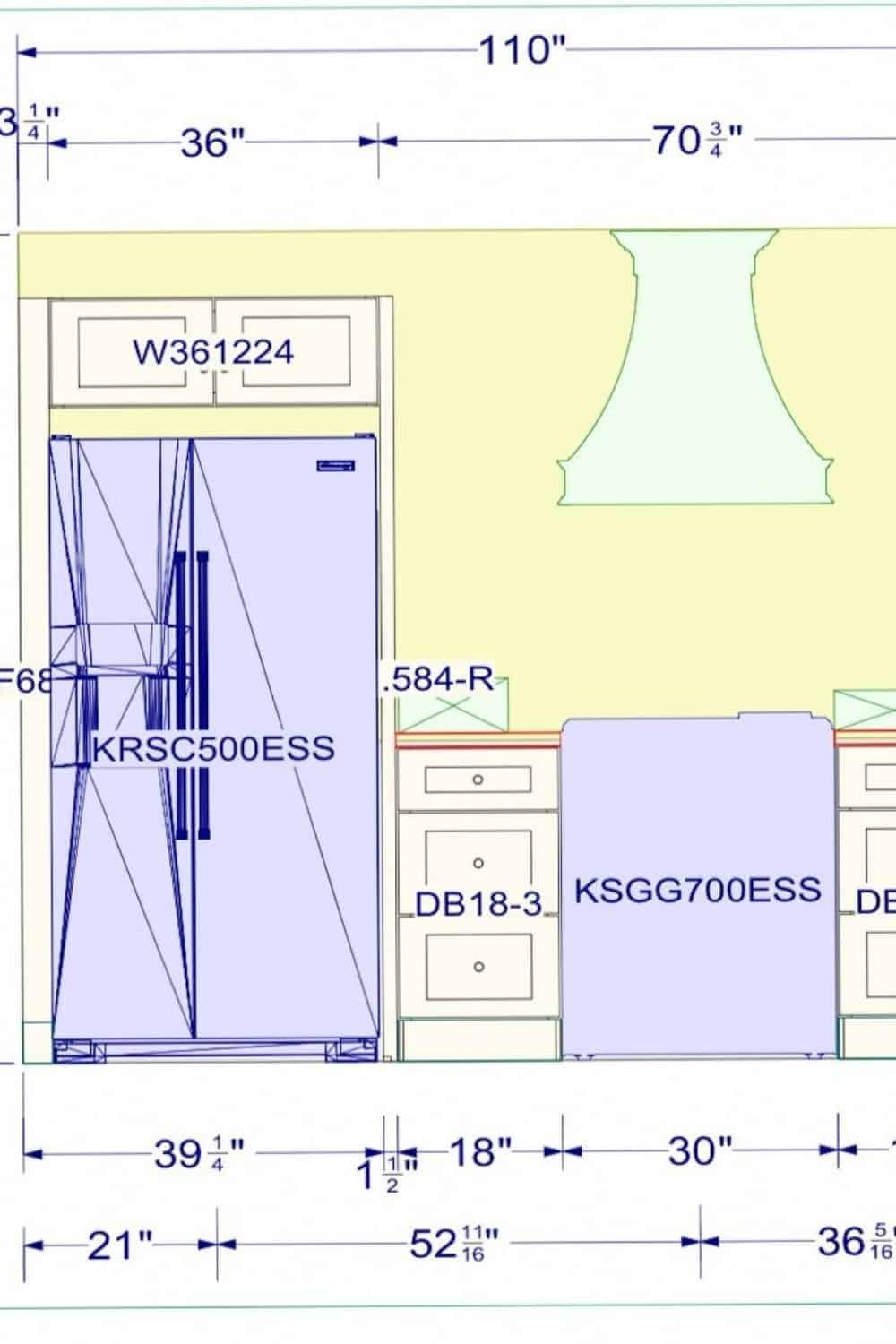 Double Wide Kitchen Remodel Plan