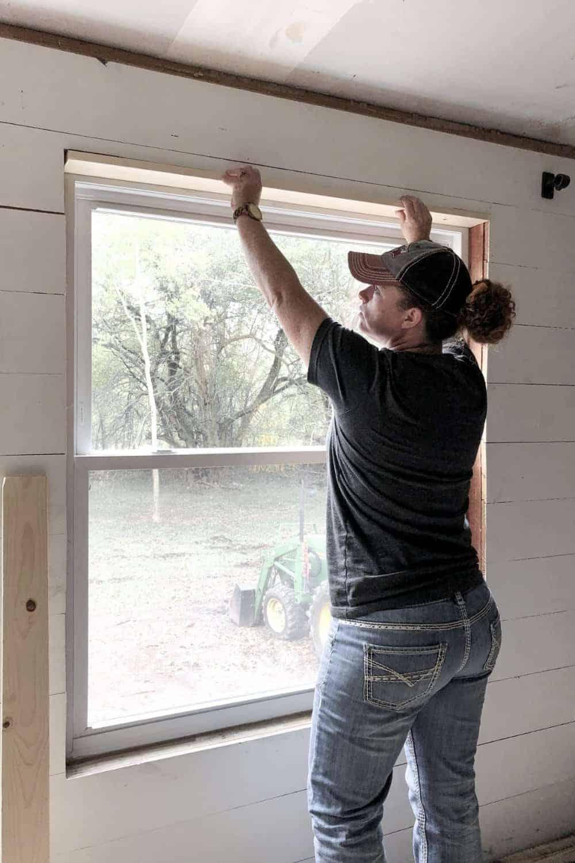 mobile home window trim