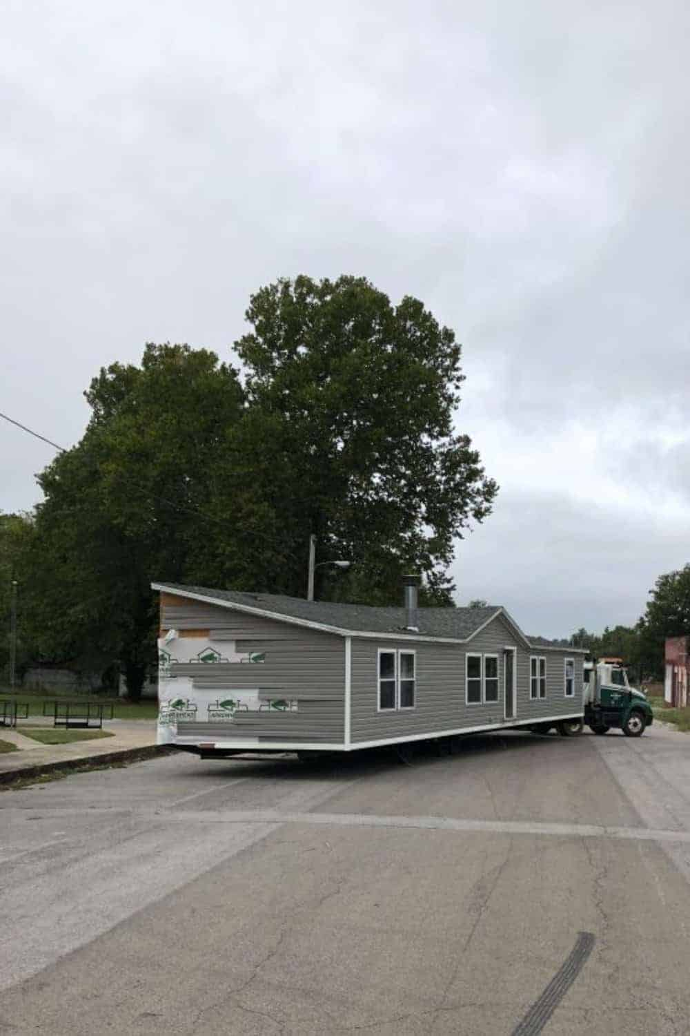 moving a double wide