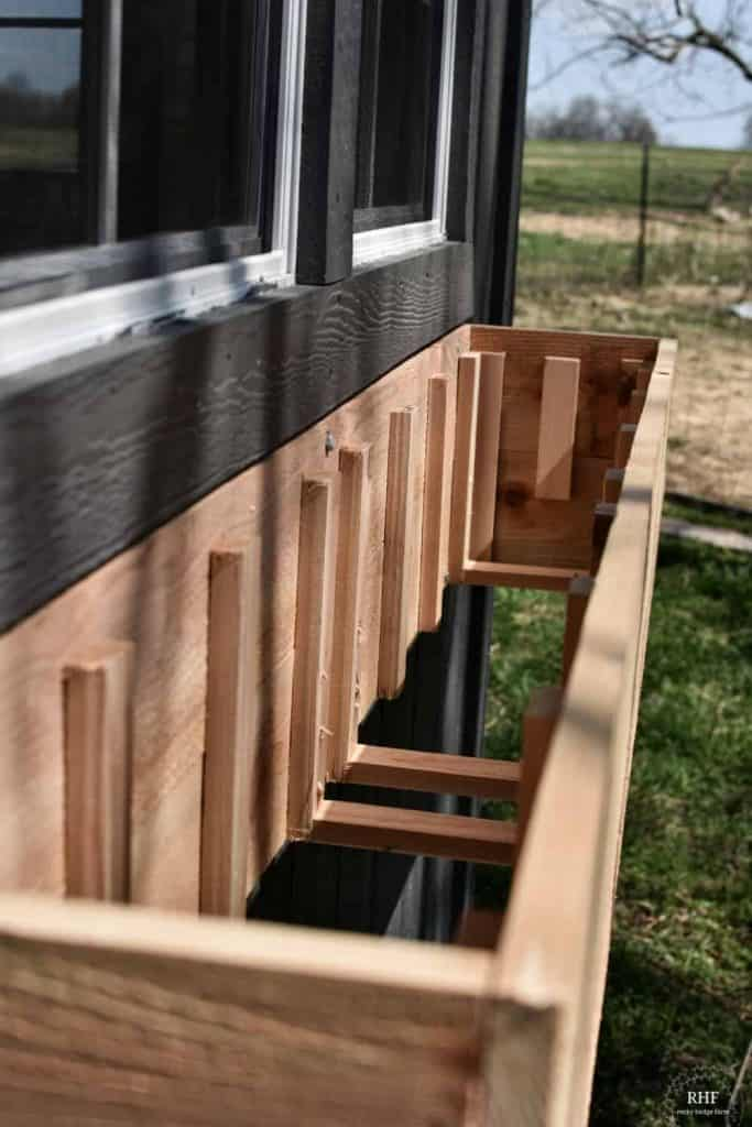 hardiboard window box