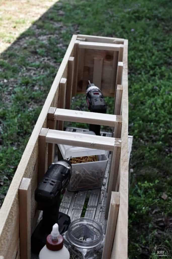 how to build flower box