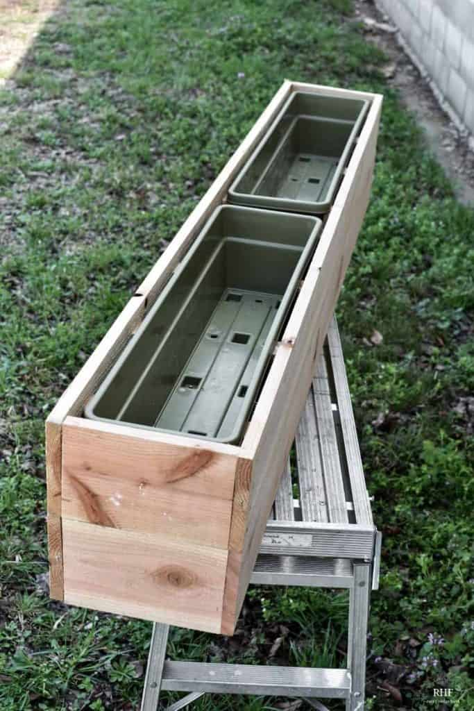 long lasting window box