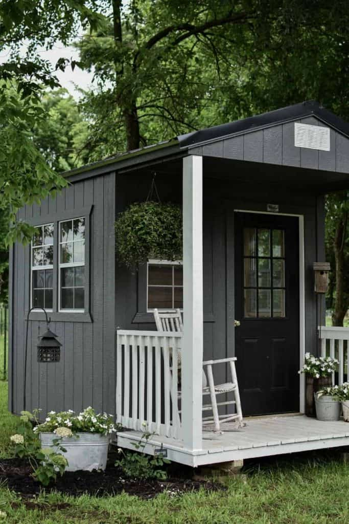 Garden Shed Design and Landscaping