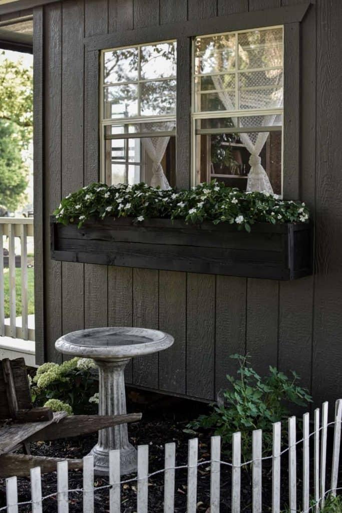 Garden Shed Window Box