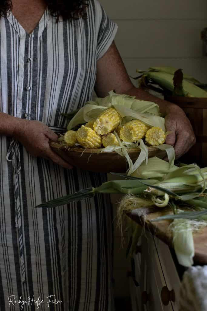 Farm Fresh Corn Aesthetic